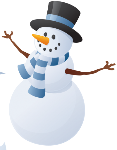 Christmas Ornament Snowman Clipart Background, Snow Ball PNG Images