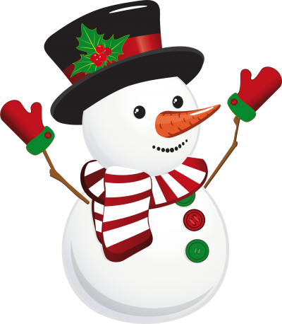 With Gloves, Hands in The Air Snowman Png Hd PNG Images