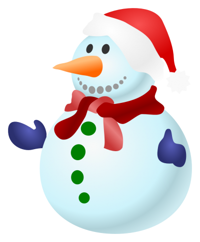 Cute Big Snowman images Background, Cute, Carrot, Winter PNG Images