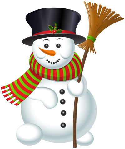 Smile, Snowman Transparent Picture With Broom PNG Images