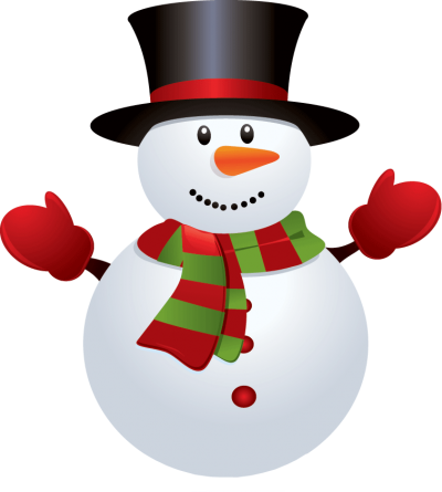 Happy Snowman Clipart Picture Hd, Gloved, Hat, Button PNG Images