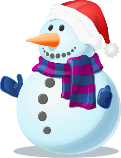 Christmas Snowman Hd Photo Free Download, Scarf, Winter, Sweet PNG Images
