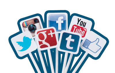 Icon Social Media Clipart PNG Images