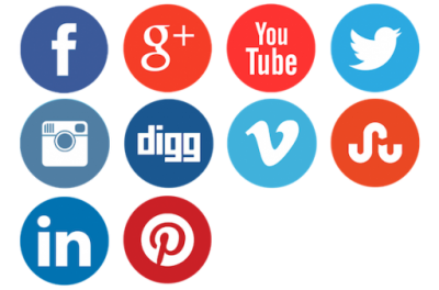 Social Media Cut Out Png PNG Images