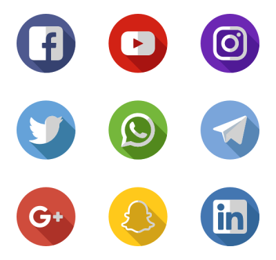 Social Media Free Download Transparent PNG Images