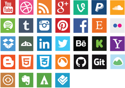 Social Media PNG Photos Clipart PNG Images