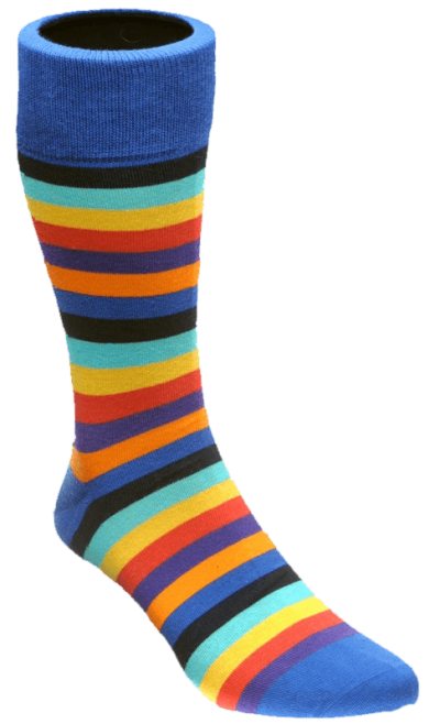 Colored Woman Socks Transparent PNG Images