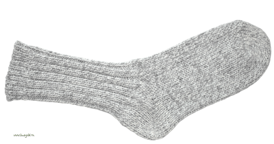 Gray Woolly Socks PNG PNG Images