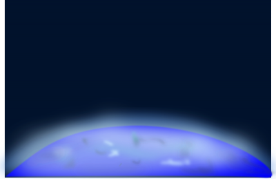 Above Earth In Space Clipart Png