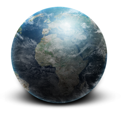 Space Planet Earth Icons Png