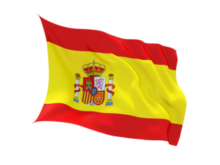 Spain Flag Drip Curtains PNG Images