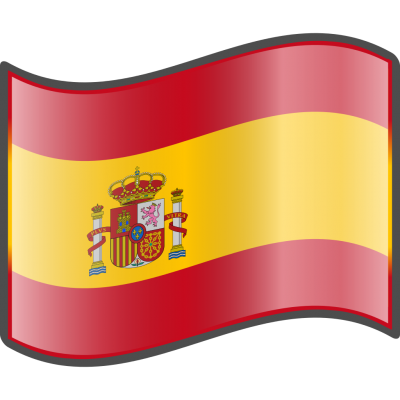 Spanish Wavy Flags Images PNG