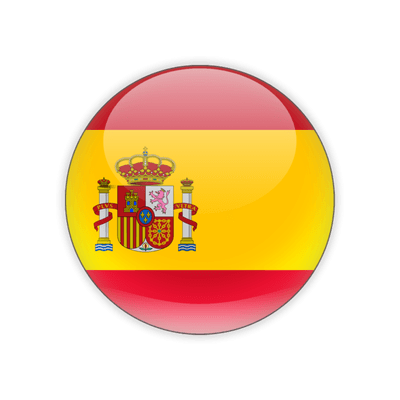 Round Flag Icon Of Spain PNG Images