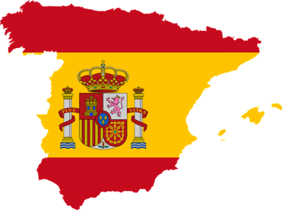 Europe Flag Spain Picture PNG Images