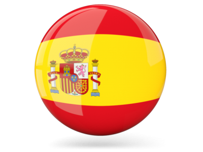 Spanish, Spain, Flag, Circle, Glossy PNG Images