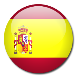 Circle Spanish Flag Icon