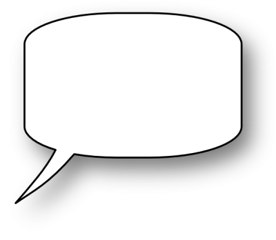 Speech Bubble Clip Art At Pic PNG Images