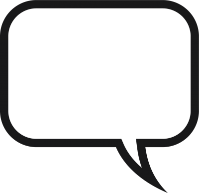 Speech Bubble Transparent Clipart