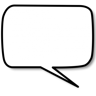 White Speech Bubble Images PNG Images