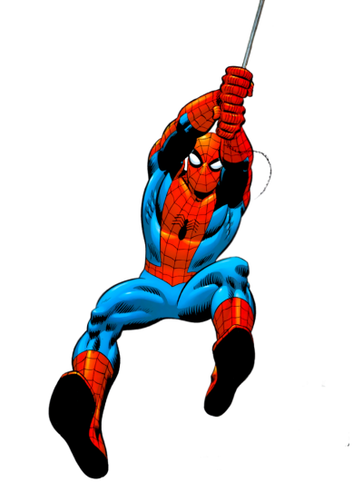 Spiderman Clipart Hd Photo Hanging On A Rope PNG Images