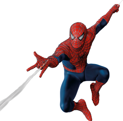 Attacking With His Web Spiderman Background Download PNG Images
