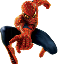Front Web Attack Spiderman Transparent Free Download PNG Images