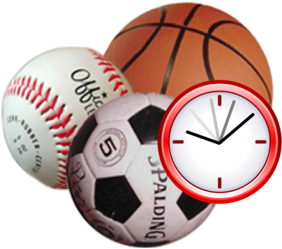 Sports Activities, Event, Football, Basketball, Handball Clipart PNG File