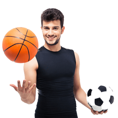 Sports Activities, Man, Basketball, Football PNG Images