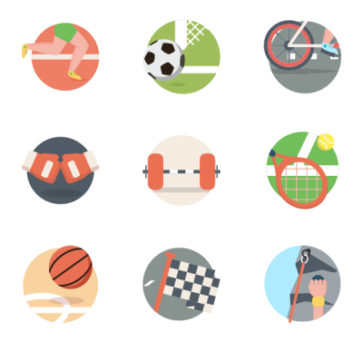 Sports Activities Clipart Transparent PNG Images
