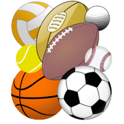 Sports Equipment Clipart Photo PNG Images