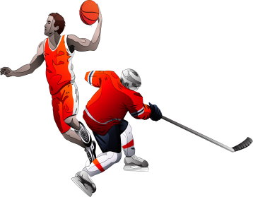 Basketball Sports Equipment Png Images Transparent