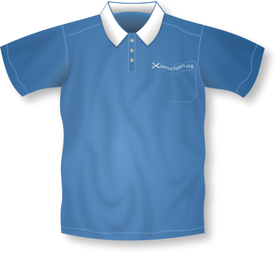 Form Blue Polo Shirt Pictures PNG Images