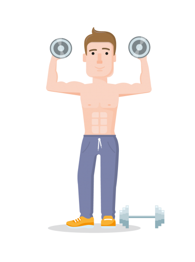 Man Doing Weightlifting, Sports Background Transparent Png Download PNG Images