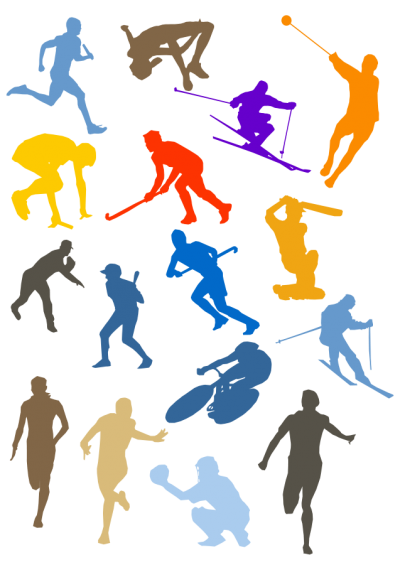 Colorful Types Of Sports Png Clipart Hd Photos PNG Images