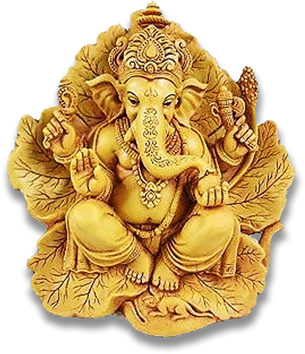 Sri Ganesh Png Transparent Images Gold