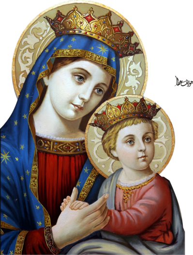 Mary Jesus Pictures PNG Images