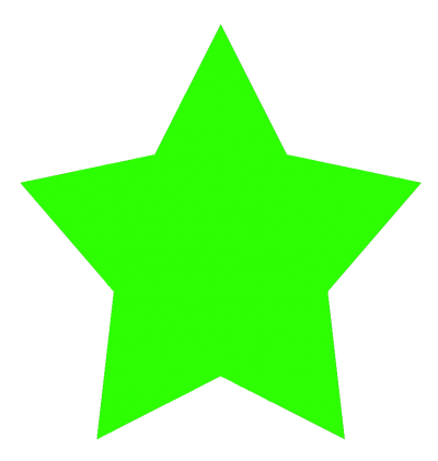 Star Clipart Green Free Cut Out PNG Images