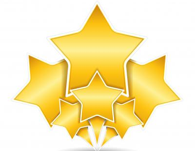 Gold Stars Clipart Free Transparent Png PNG Images