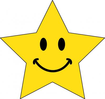 Happy Star Clipart High Quality PNG