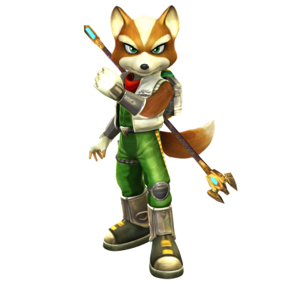 Star Fox Cut Out Png PNG Images