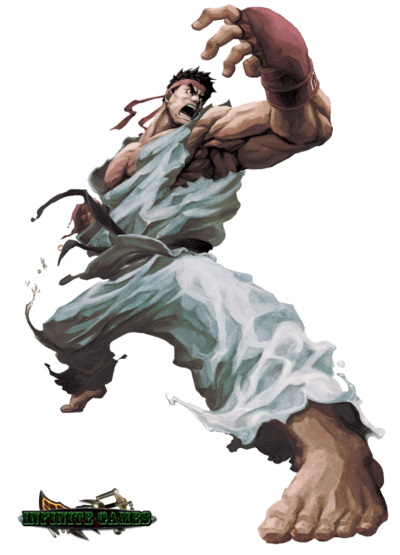 Street Fighter Cut Out Png PNG Images