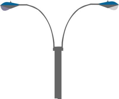 Street Light Clipart PNG File