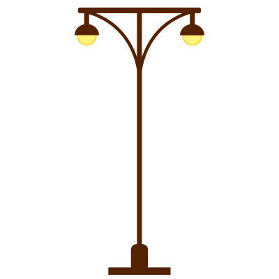 Street Light Cut Out PNG Images