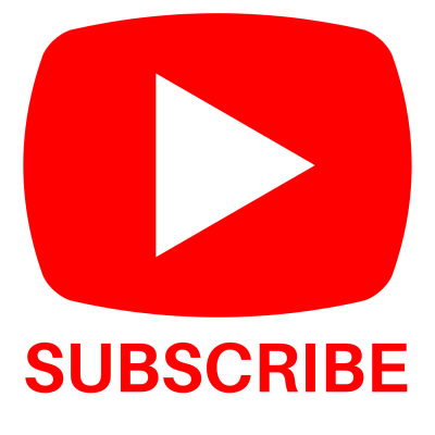 Youtube Logo And Subscribe Button Transparent Background Download PNG Images