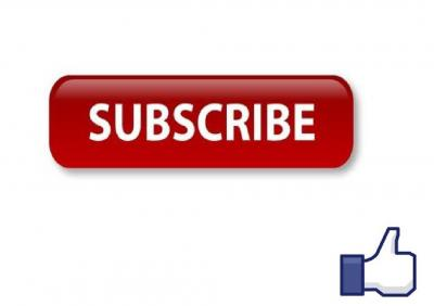 Subscribe Like Transparent Background PNG Images