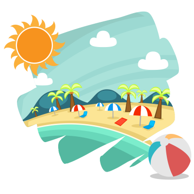 Fun, Sand, Sun, Accessories Summer Png images Download PNG Images