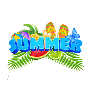 Summer Transparent Hd Clipart Background With Fruity PNG Images