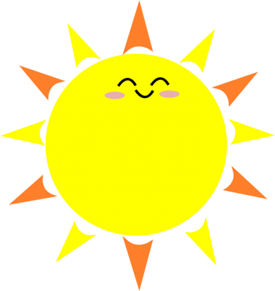 Clipart Happy Sun Png PNG Images