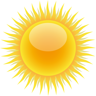 Gold Sun Clip Art At Pictures PNG Images