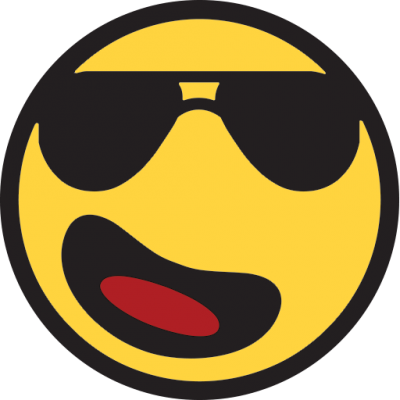 Sunglasses Emoji Simple PNG Images